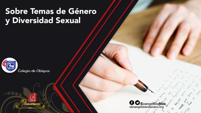 Comunicado del Colegio de Obispos/as sobre Temas de Género y DiversidadSexual